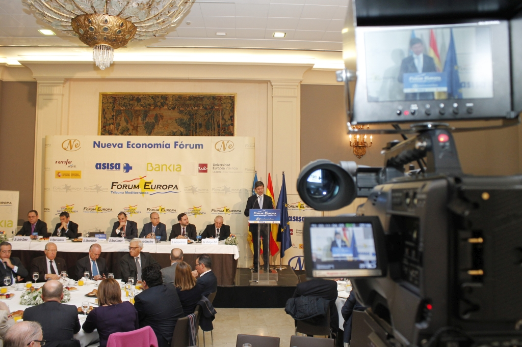Bubo Media - Acto de Nueva Economia Forum 1