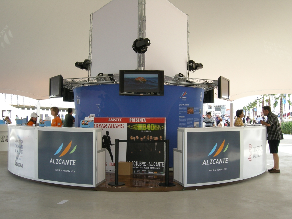 Evento Volvo Ocean Race (Alicante)