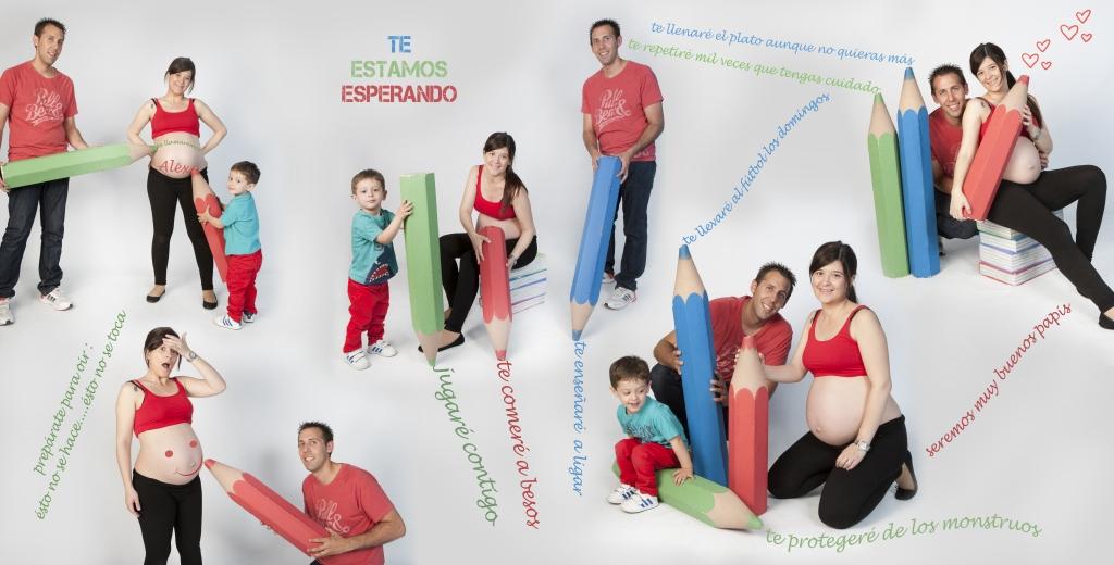 Fotografía de embarazadas (con familia) 3