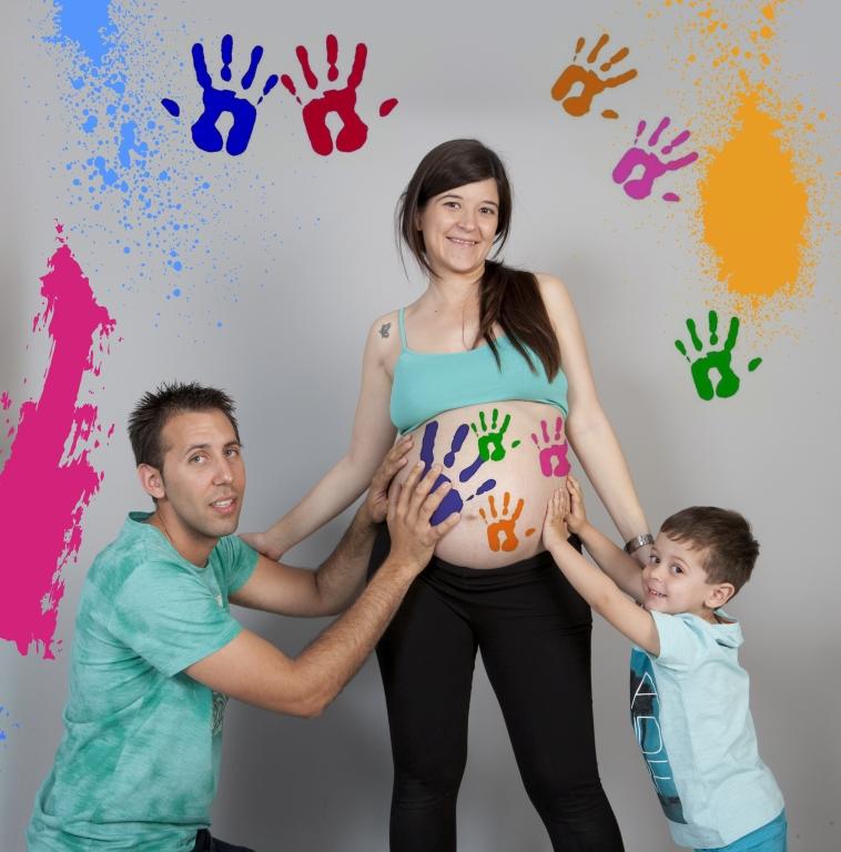 Fotografía de embarazadas (con familia) 4
