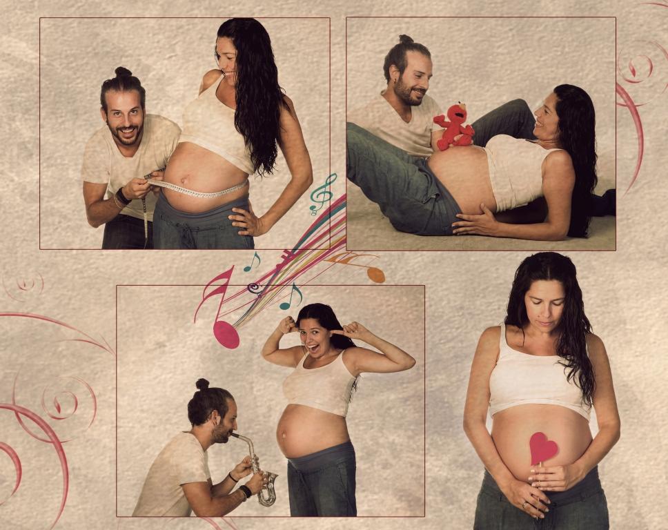 Fotografía de embarazadas (con familia) 5