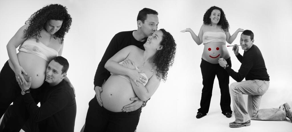 Fotografía de embarazadas (pareja) 1