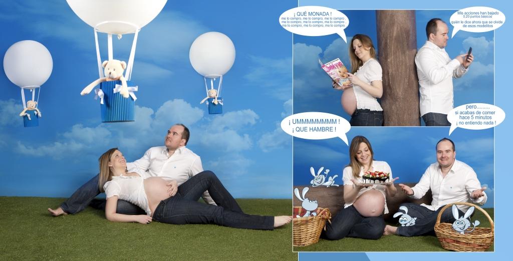 Fotografía de embarazadas (pareja) 7