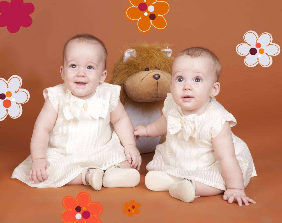 Fotografía de niños (gemelos)