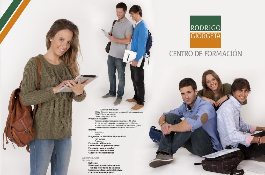 Fotografía folleto de publicidad