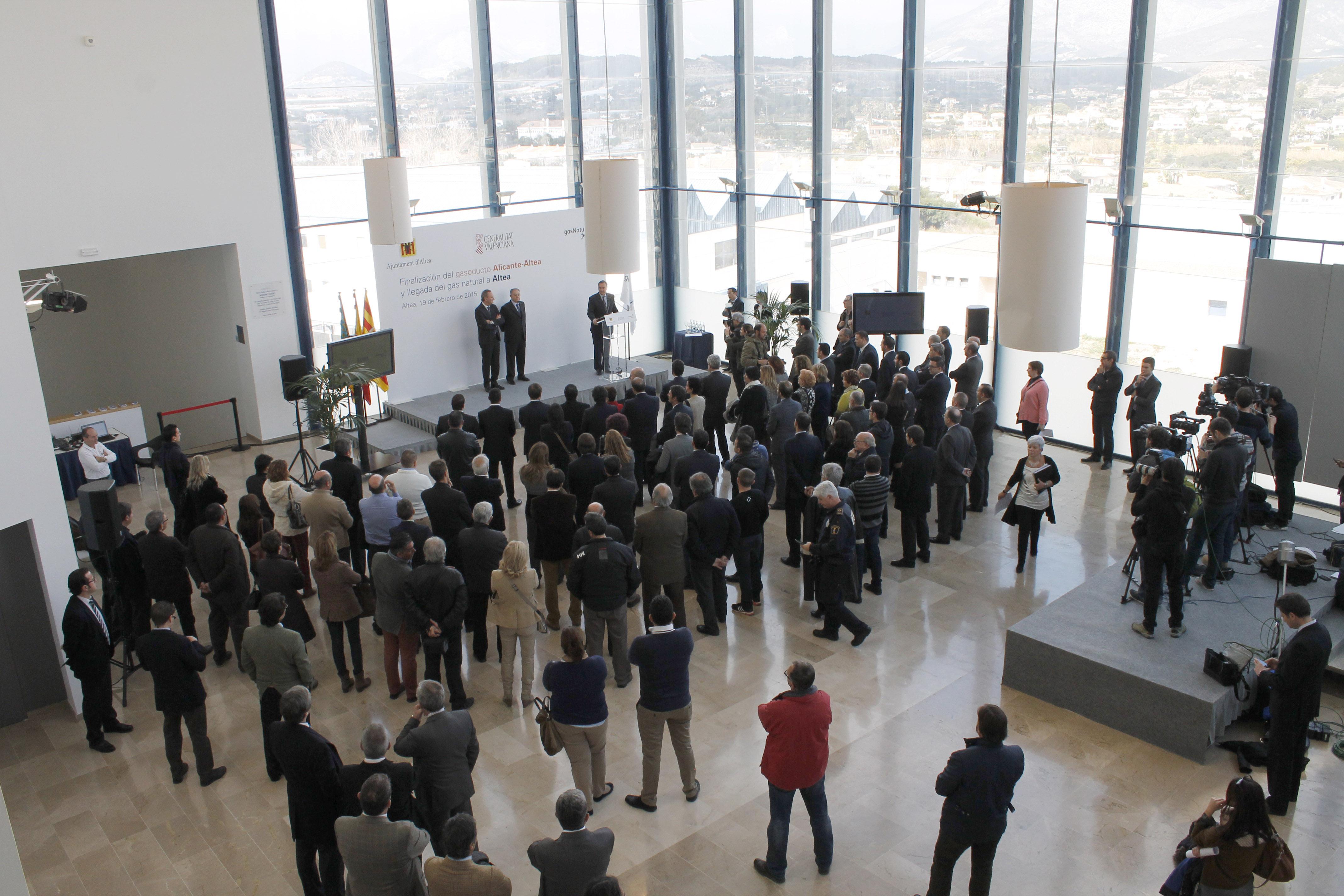 Montaje integral de evento - Palacio de Cogresos de Altea (AGENCIA PORTER NOVELLI)